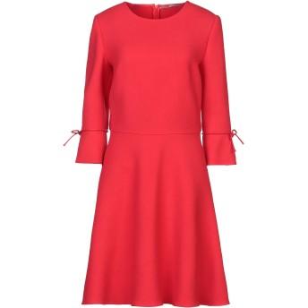 《セール開催中》ERMANNO SCERVINO レディース ミニワンピース&ドレス レッド 44 バージンウール 100%