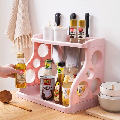 雙層廚房置物架 ST038