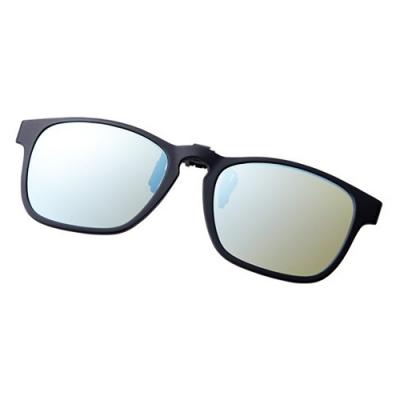 【SHIMANO】夾式偏光鏡 UJ-401S_黃藍色鏡面