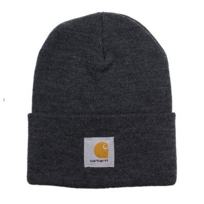 【A-KAY0】CARHARTT 男女 ACRYLIC WATCH HAT 美國製 毛帽 鐵灰【A18-CLH】