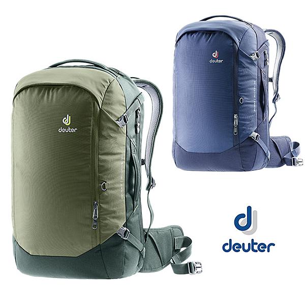 丹大戶外用品 德國【Deuter】AVIANT ACCESS 商務旅遊兩用包38L 3511020 橄欖綠/藍