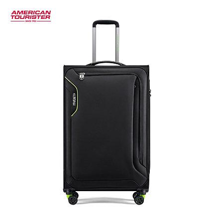 AT美國旅行者 20吋 Applite 3.0S 輕量可加大 登機箱/旅行箱-(黑色) DB7