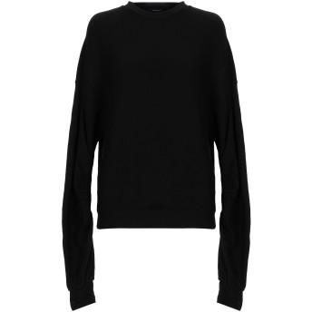 《セール開催中》R13 レディース スウェットシャツ ブラック XS 85% コットン 15% テンセル