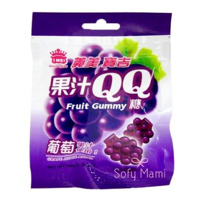 IMEI 義美 | 寶吉果汁QQ糖 葡萄口味 軟糖 零食點心 小甜點 臺灣製造 葡萄軟糖