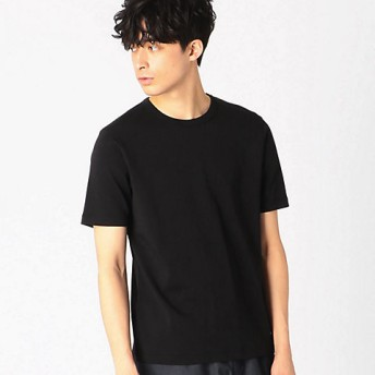 <COMME CA ISM (メンズ)> 《接触冷感》 Tシャツ(4760TP07) ブラック【三越・伊勢丹/公式】