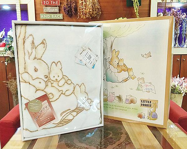 兔子童毯 女方壓箱用品 喝茶禮 吃茶禮 婚禮小物 婚俗用品【皇家結婚百貨】