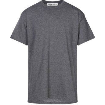《セール開催中》NINEMINUTES メンズ T シャツ 鉛色 L コットン 100%