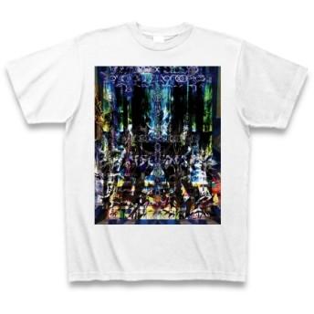 有効的異常症候群存在的残像陸◆アート◆文字◆ロゴ◆ヘビーウェイト◆半袖◆Tシャツ◆ホワイト◆各サイズ選択可