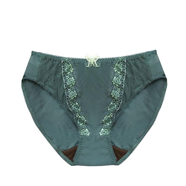 配褲→→→Amorous 私密內衣「花氛萌萌」內裡咖啡紗軟鋼圈內衣