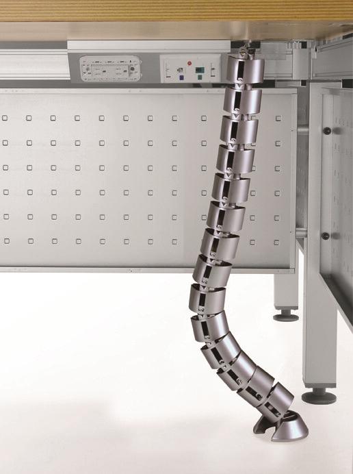 [top oa]桌下走線管/蛇管