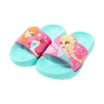 魔法Baby 女童 台灣製迪士尼冰雪奇緣正版美型拖鞋 sa94016