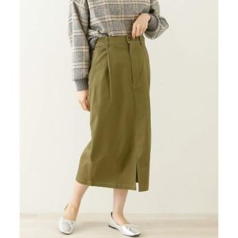 レイカズン(RAY CASSIN) ツイルナロースカート【カーキ/FREE】