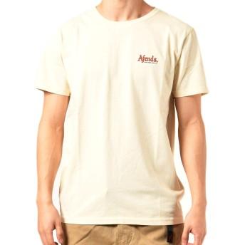 AFENDS アフェンズ メンズ 半袖 Tシャツ JM201004-1 MACADAMIA L