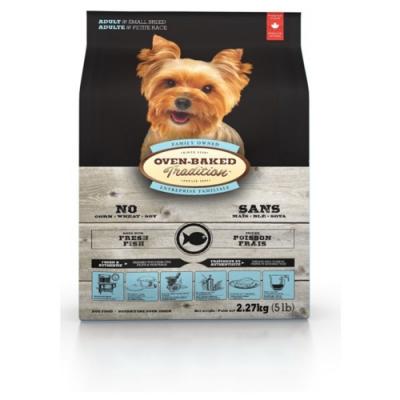 加拿大OVEN-BAKED烘焙客-成犬深海魚-小顆粒 2.27kg(5lb) 兩包組