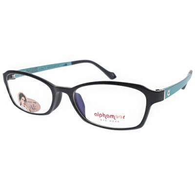 Alphameer光學眼鏡 韓國塑鋼系列/深藍-青#AM3523 C105