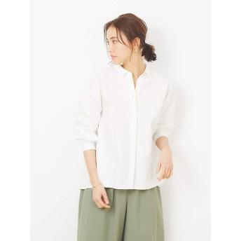 (コレックス) collex トップス リトルカラーシャツ レディース ホワイト Free
