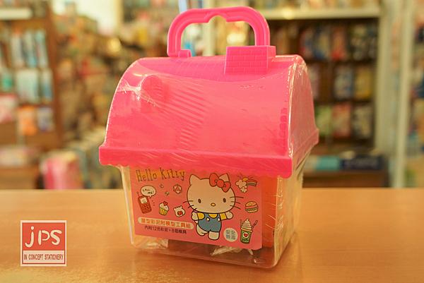 Hello Kitty 凱蒂貓 屋型彩泥 附模型工具組 957656