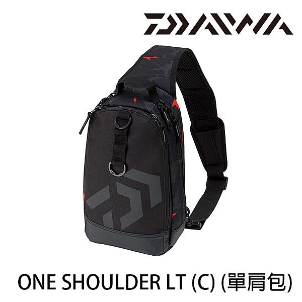 漁拓釣具 DAIWA ONE SHOULDER LT [C] [單肩包]
