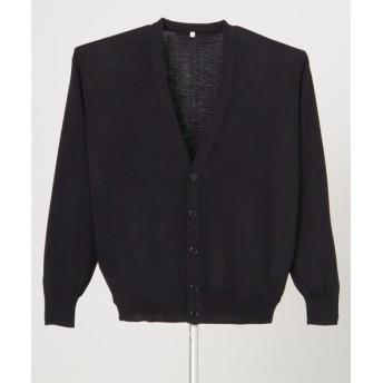 D-2001 ディーフェイズ 抗ピルメンズカーディガン ナースウェア・白衣・介護ウェア, Lab coat