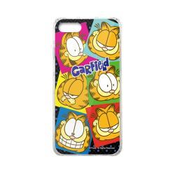 加菲貓GARFIELD正版授權 iPhone7/iPhone8雙料玻璃防摔透明殼-很有戲