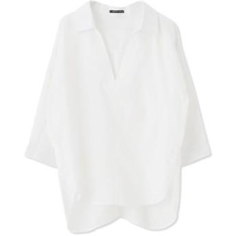 【アクアガレージ】スキッパーシャツ