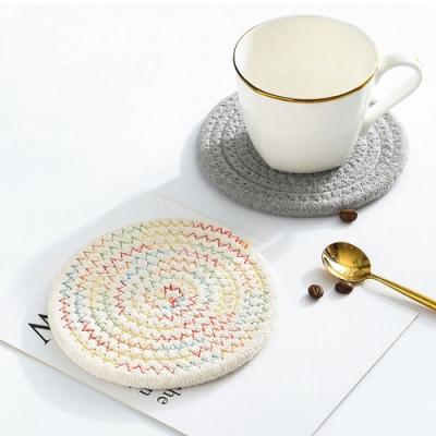 Cap日式圓形編織隔熱墊-小號(快)