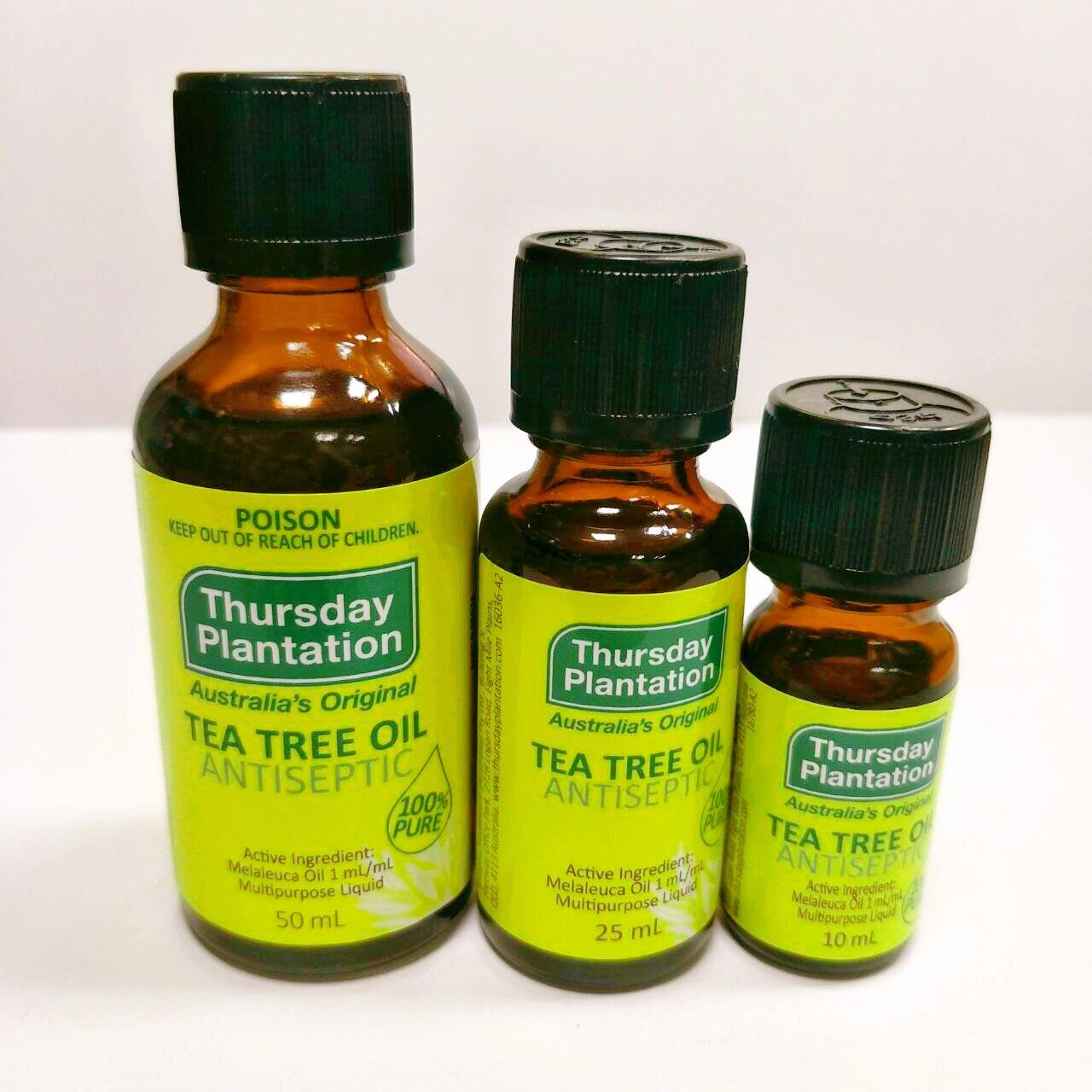 (現貨)澳洲代購 Thursday Plantation 星期四農莊 茶樹 精油
