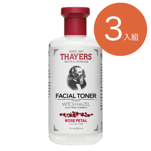 [Thayers] 金縷梅化妝水-玫瑰355ml(3入組)