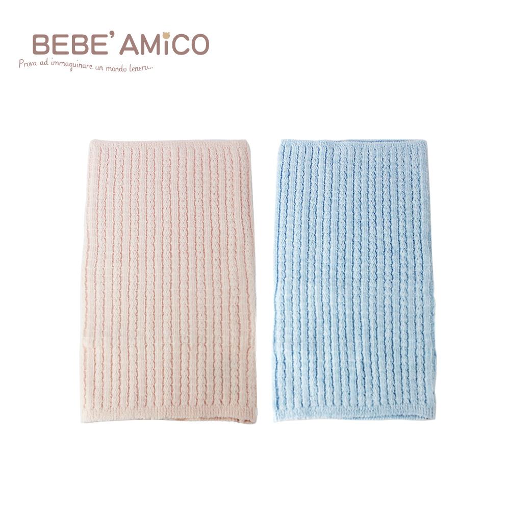 BeBe Amico-編織透氣伸縮肚圍-兩色