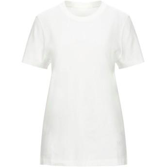 《セール開催中》MM6 MAISON MARGIELA レディース T シャツ ホワイト S コットン 100%