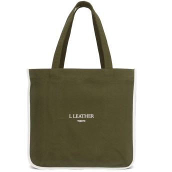 L LEATHER エルレザー CCLトートバッグ トートバッグ,WH×KH