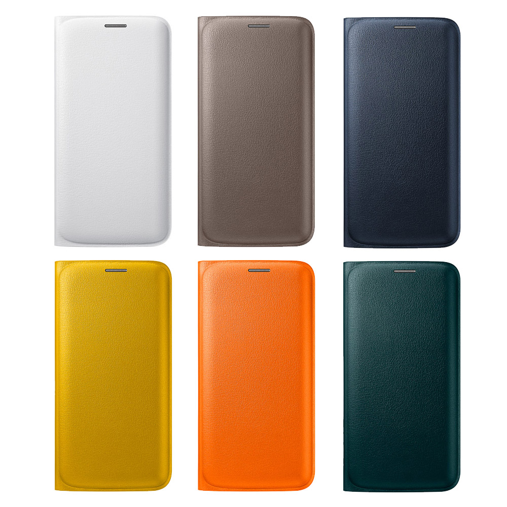 Samsung Galaxy S6 edge 原廠書本翻頁式皮套