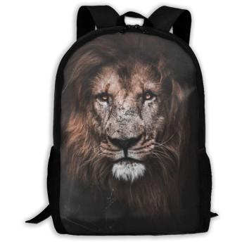 ライオン King リュックサック PCバック ビジネスリュック 旅行バッグ 大容量 軽量 高耐久性 ラップトップ バックパック男女兼用 通勤 通学用