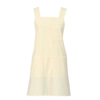 914 KAZEN エプロン(ショート丈) ナースウェア・白衣・介護ウェア, Lab coat