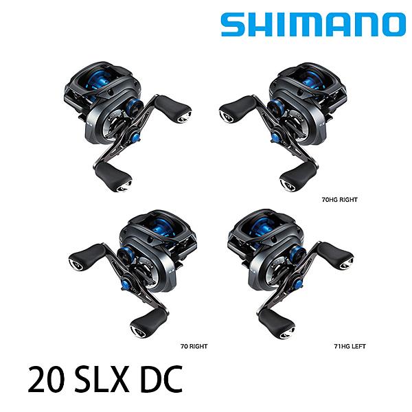 漁拓釣具 SHIMANO 20 SLX DC 70 系列 [兩軸捲線器]