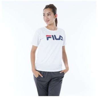 (FILA/フィラ)ベーシック半袖Tシャツ/レディース ホワイト