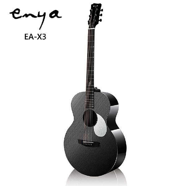 Enya EA-X3嚴選AJ筒碳纖維41吋民謠吉他-含原廠琴包
