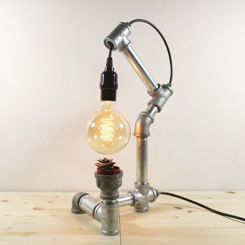 工業風 手工 水管燈 鎢絲燈 - 袋鼠