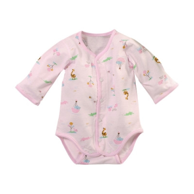 魔法Baby 台灣製薄款純棉護手連身衣 b0283