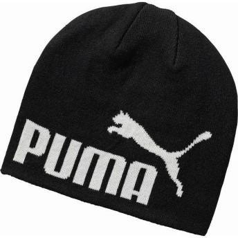 [PUMA]プーマ ニット帽 エッセンシャル ビーニー (052925)(15) ブラック/No.1[取寄商品]