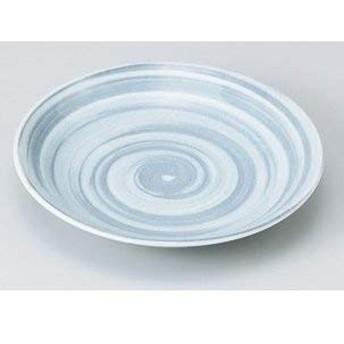 美濃焼 和皿/ グレー巻3.5皿 (3個組) / お楽しみグッズ(キッチン用品)付きセット