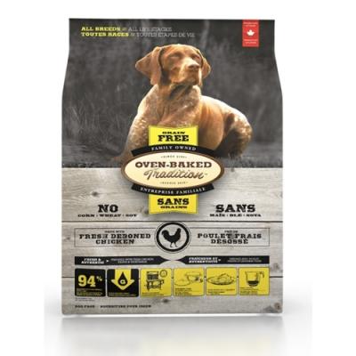 加拿大OVEN-BAKED烘焙客-全齡犬無穀野放雞-原顆粒 5.67kg(12.5lb)
