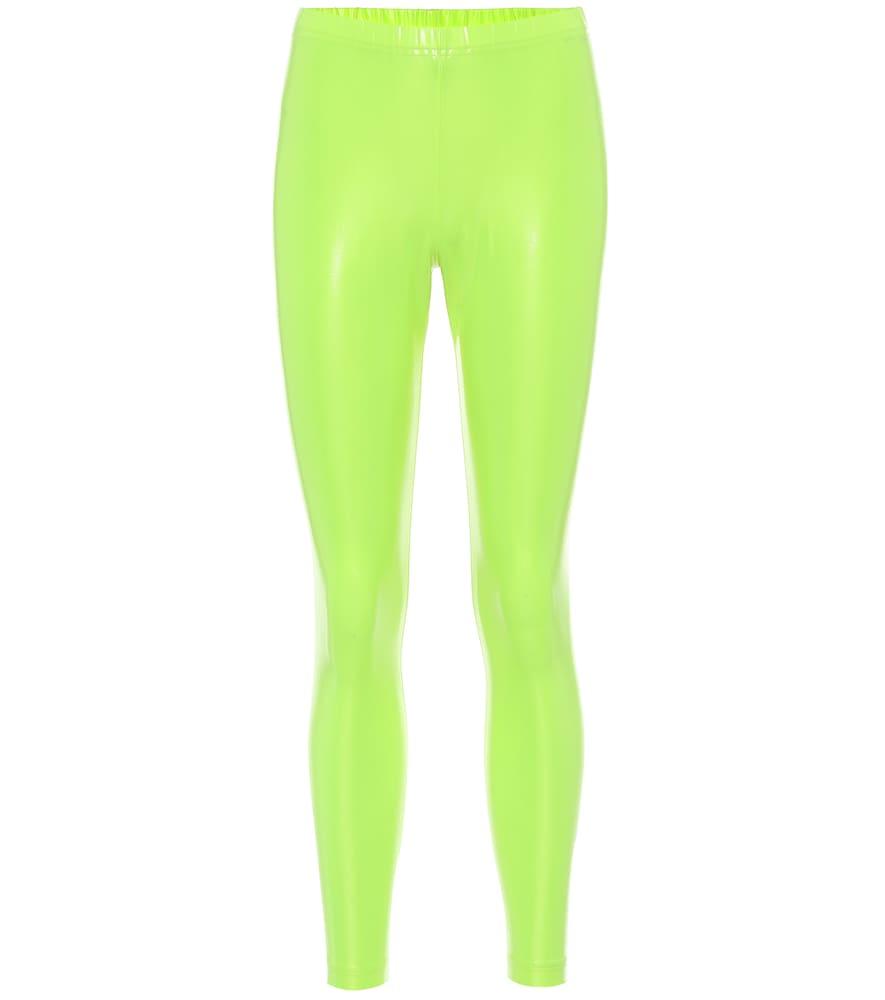 High-rise stretch leggings