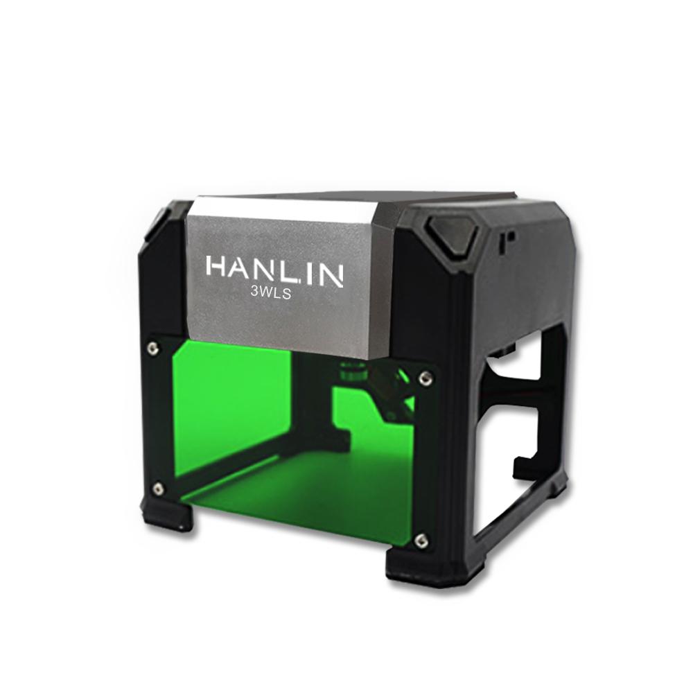 HANLIN 3WLS 升級3W迷你簡易雷射雕刻機