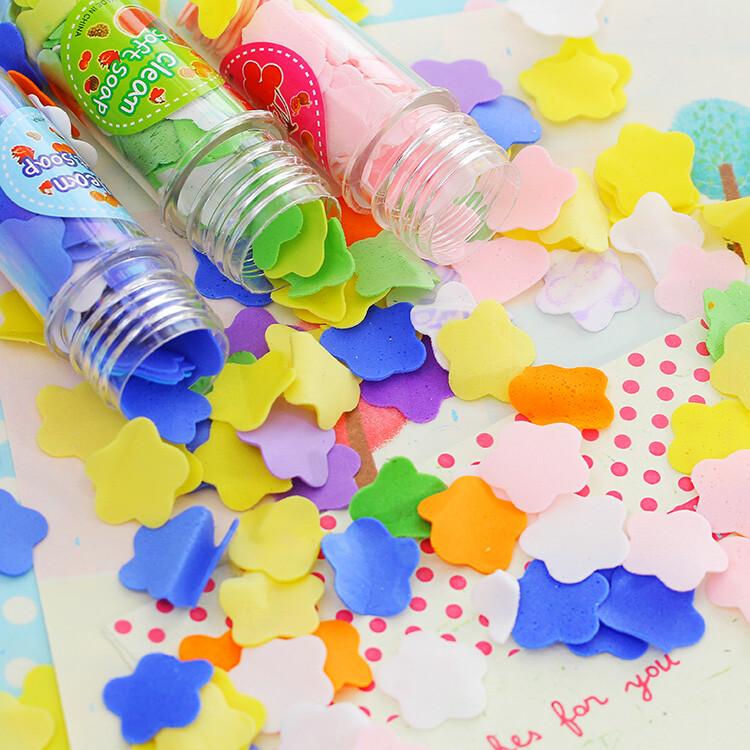 便攜紙香皂戶外洗手香皂片紙肥皂片(100片一入裝)