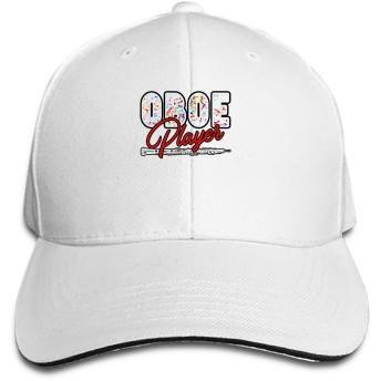 男性女性のためのオーボエプレーヤー野球キャップお父さん帽子トラック運転手帽子