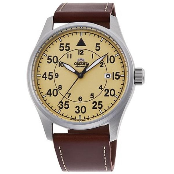 【時間光廊】ORIENT 東方錶 黃色 飛行錶 機械錶 公司貨 錶徑42.4公分 RA-AC0H04Y