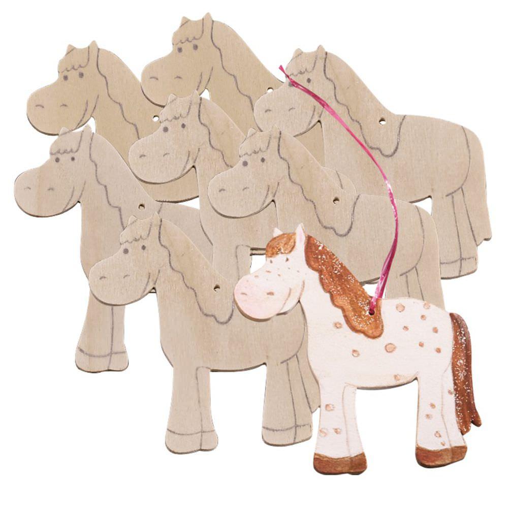 JAKO-O 德國野酷  DIY造型著色版 馬駒