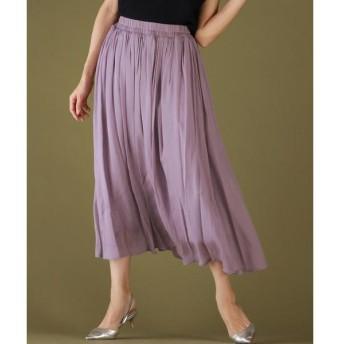LAUTREAMONT / ロートレアモン 【WEB別注】ウエストゴムのロングフレアースカート