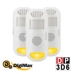 DigiMax DP-3D6 強效型負離子空氣清淨機超值3入組